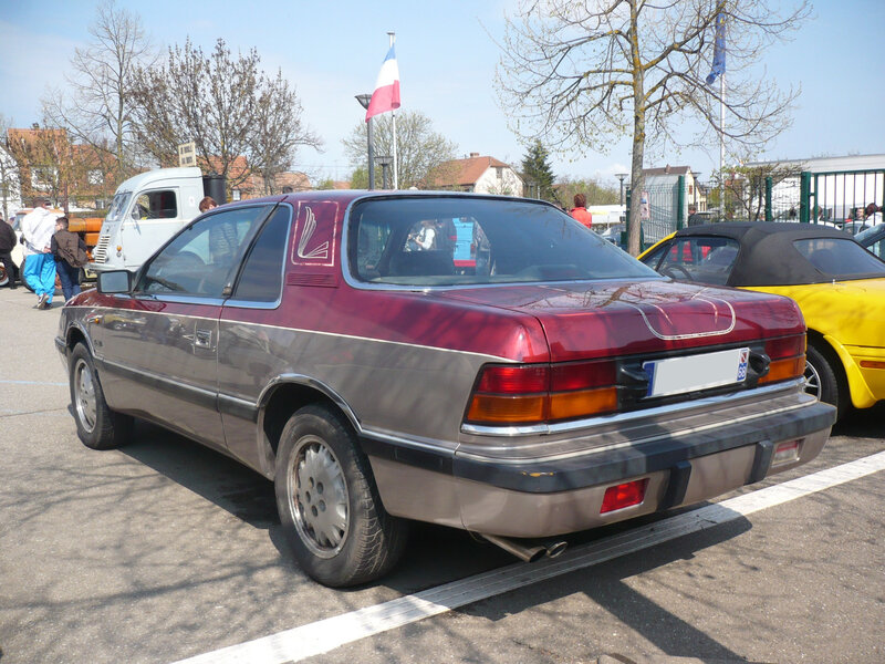 CHRYSLER LeBaron Turbo coupé Châtenois (2)