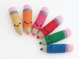 crayon couleur crochet