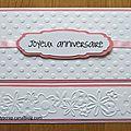 Petite carte pour un anniversaire...