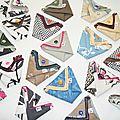 Porte monnaie en origami