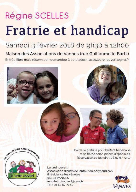 conférence Fratrie 2018