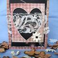 Cartes avec coeur/ karteczki od serca