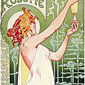 Art nouveau 1896_Absinthe Robette_Privat-Livemont