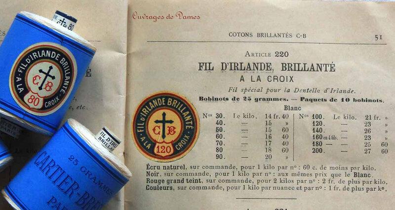 Fil d'Irlande catalogue 1908