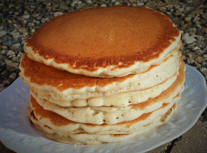 Pancake amandes