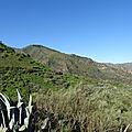 Montagne de los cazadores, telde, île de gran canaria.
