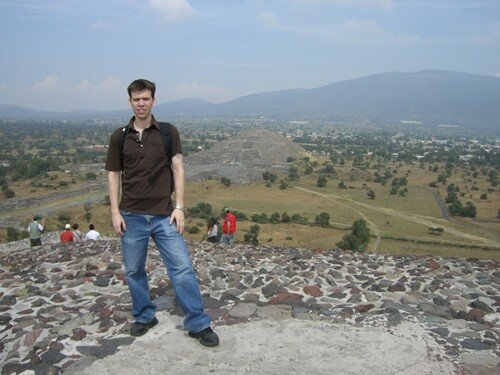 Teotihuacan - Top of Pyramid of the Sun