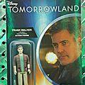 George clooney/tomorrowland/figurines du film