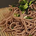 Japan week - soba froides