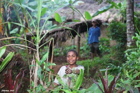 rencontre village papou