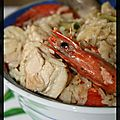 P'tite paella à l'asiatique