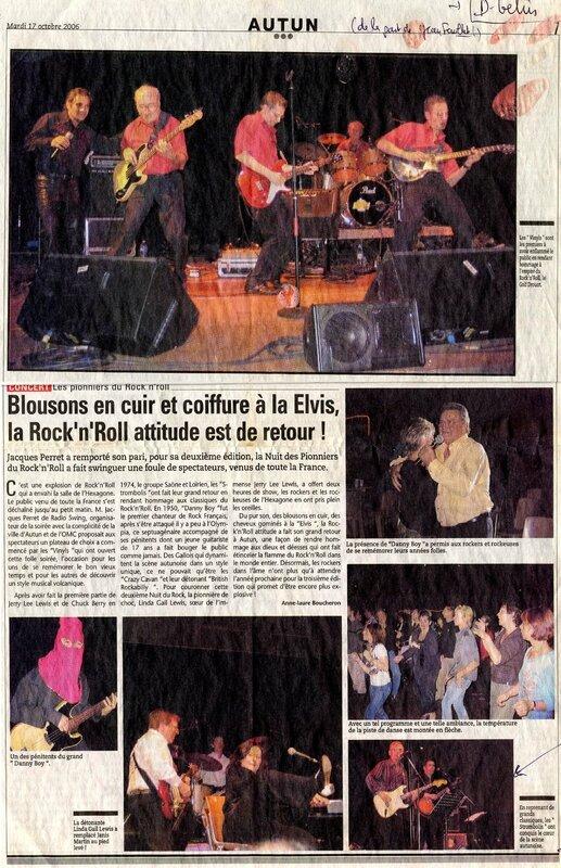 les pionniers du rock'n'roll en couleur