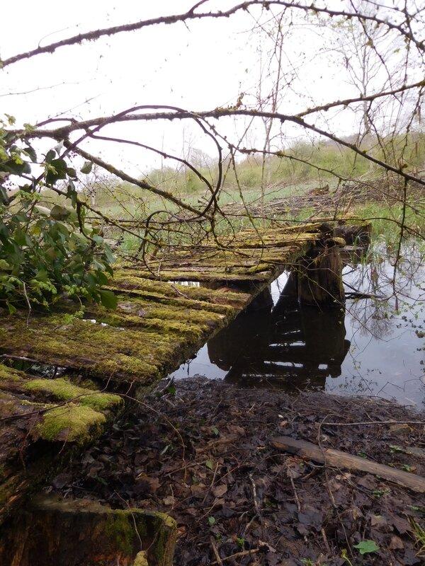 Pont ecroulé