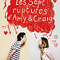 Les sept ruptures d'amy et craig, de don zolidis