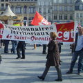 Manif Saint-Quentin 23/03/2010