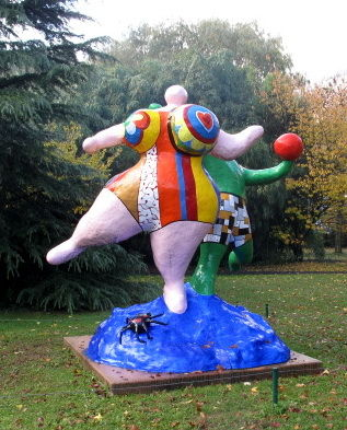 Niki de Saint Phalle : Baigneurs