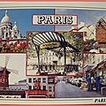 01 Paris - Sacré Coeur, Moulin de Radet, Moulin Rouge, rue Lepic, Métro les Abbesses