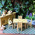 La salle à manger provençale
