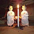 Les bougies de la prospérité et d'abondance du maitre toffa