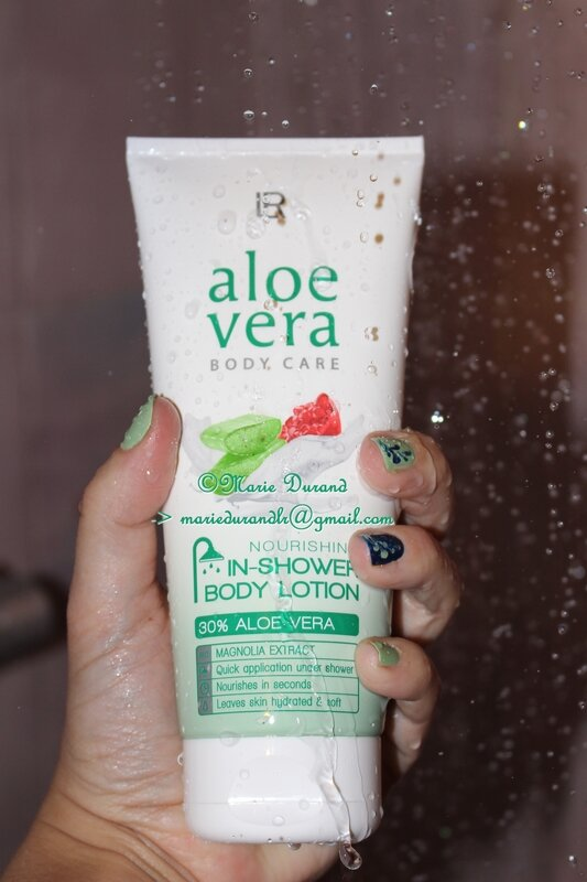 Aloé Véra nourishing In-shower lotion marieurandlr@gmail.com