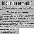1917 31 mars : les travaux des vignes se poursuivent...
