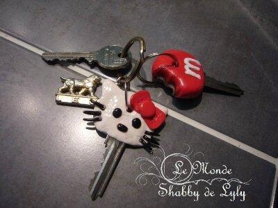 porte clés pate fimo3