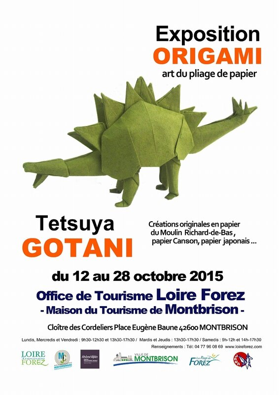 S-Affiche-Expo-Origami-Tetsuya Gotani Montbrison 2015-OK