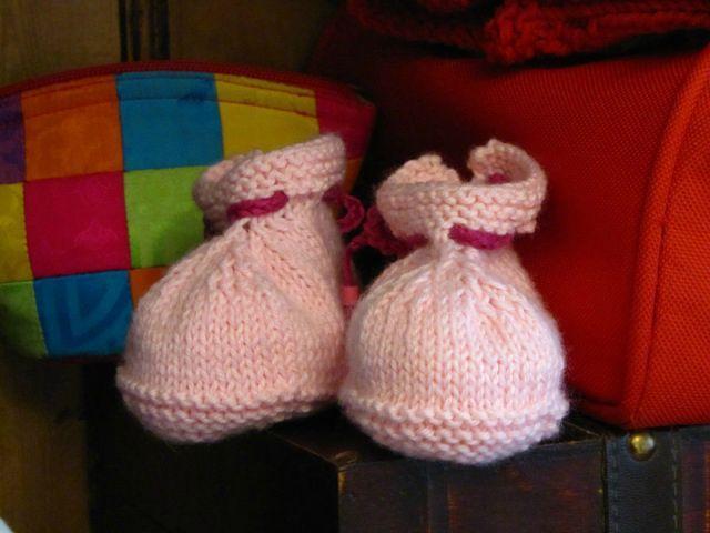 chaussons poupées