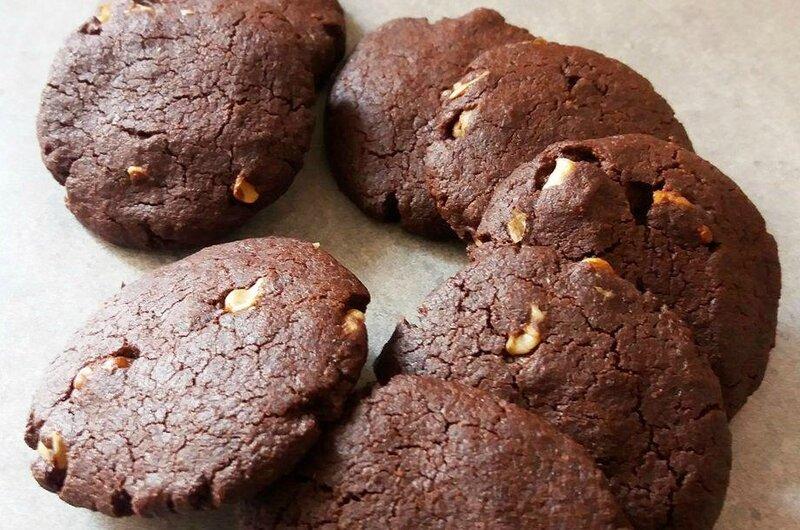 Cookies au chocolat et à l'huile