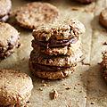 Cookies à la purée de cacahuètes (vegan)