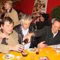 J.L Gonnet, J.Cl. Saurel et Patrice Leconte