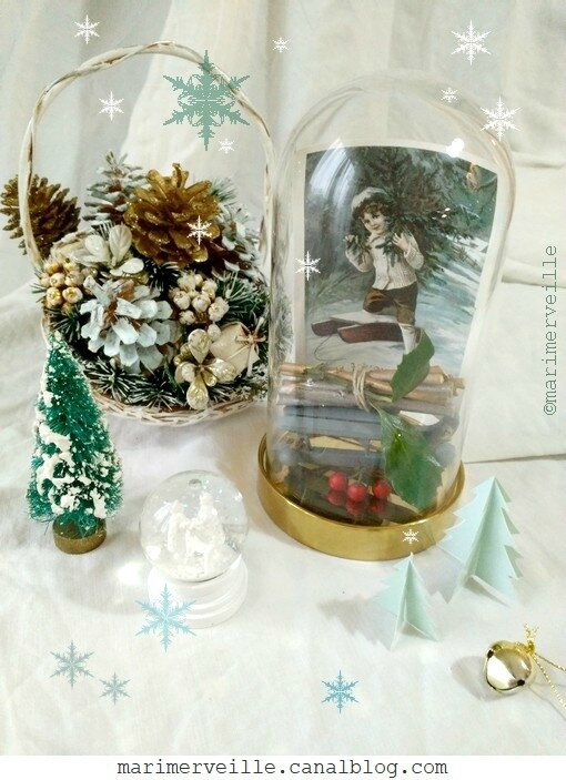 Noël vintage - rétro bohème - Marimerveille