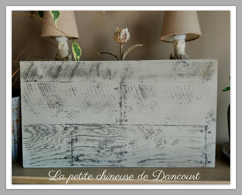 Planche la petite chineuse de Dancourt