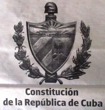constitution Cuba