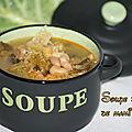 Soupe au chou de mami