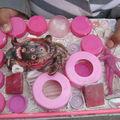 Mouna en rose
