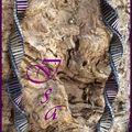 Collier Bugles mauve 2