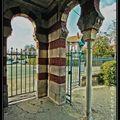 Arcachon ville d'hiver , architecture (parc mauresque)