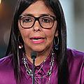 Vénézuela: la vice présidente déplore l'impacte négatif des tentatives de putsch sur l'économie nationale