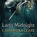 [cover reveal] lady midnight (tda #1) de cassandra clare