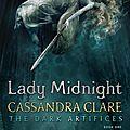 [cover reveal] lady midnight (tda #1) de cassandra clare