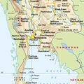 39- CARTE THAILANDE