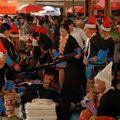 Les minorités Yi, Hani et Yao du marché de Jinping