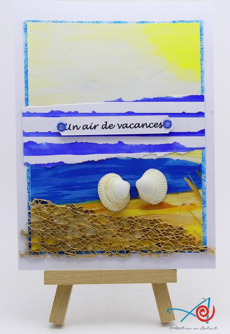 Carte bord de mer L'Atelier au soleil