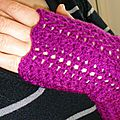 Snood_mitaines violet 5