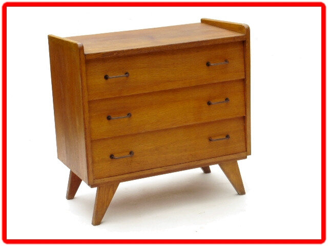 commode 3 tiroirs vintage