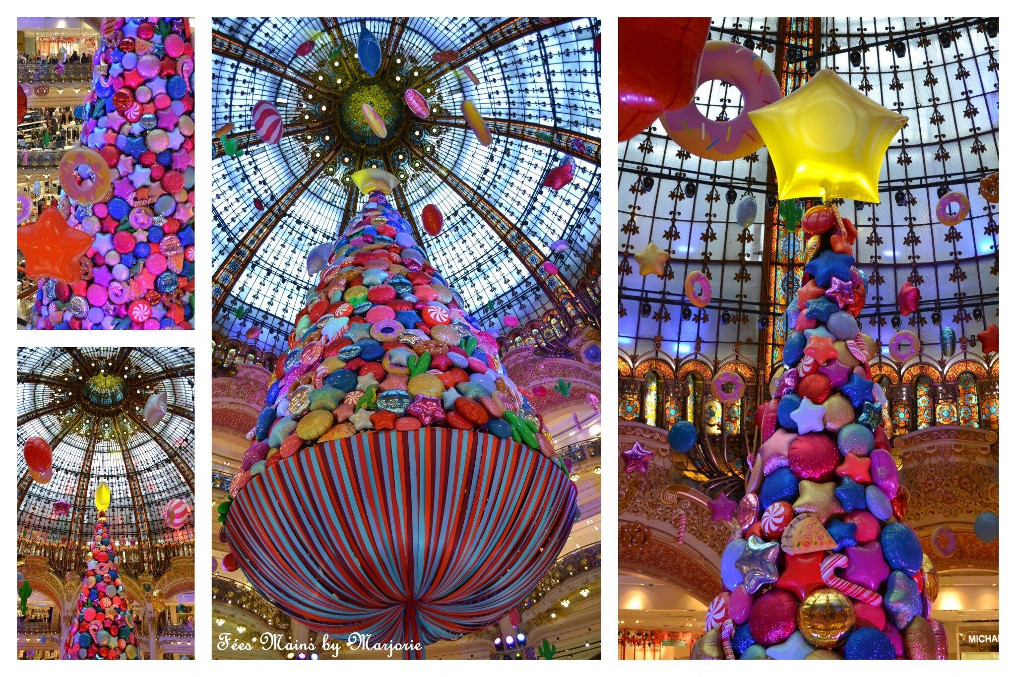 Sapin de Noël Paris Galeries Lafayette