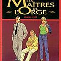 Franck, 1997 (les maîtres de l'orge tome 7) ❉❉❉ van hamme et vallès
