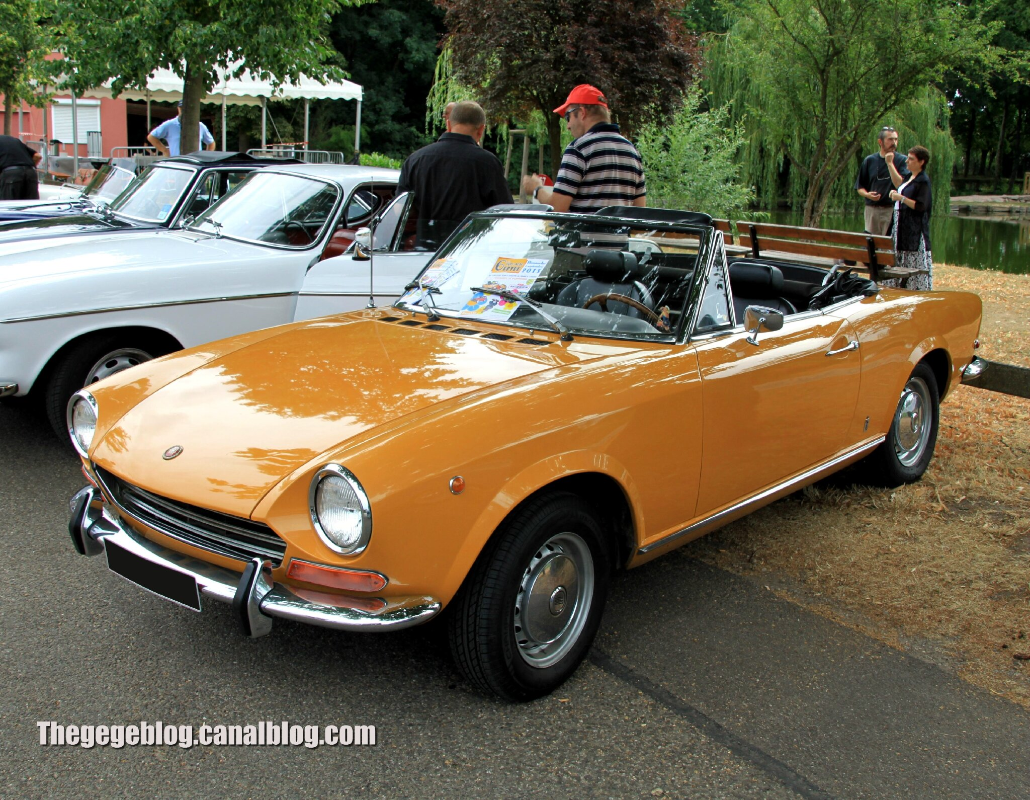 Fiat 124 Spider Sport 1400 Type As 1967 1970retrorencard Aout 1970 Convertible 2013
