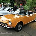 Fiat 124 spider sport 1400 type as (1967-1970)(retrorencard aout 2013)